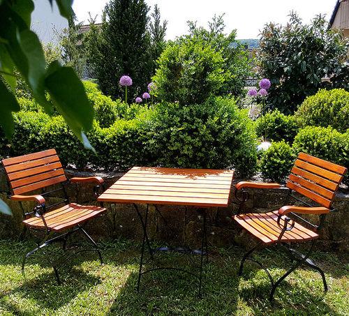 Gartenmöbel klappbar + Balkon + Bistro + Biergarten  Art Jardin