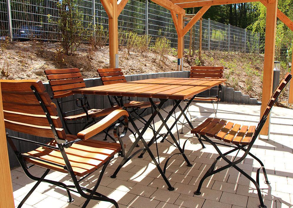 Awo Klappmöbel Set Lord 7tlg Sessel Stuhl Tisch 160x80 Artjardin