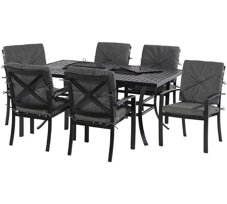 hartman 8 tlg new jamie oliver dining set alu guss art jardin. Black Bedroom Furniture Sets. Home Design Ideas