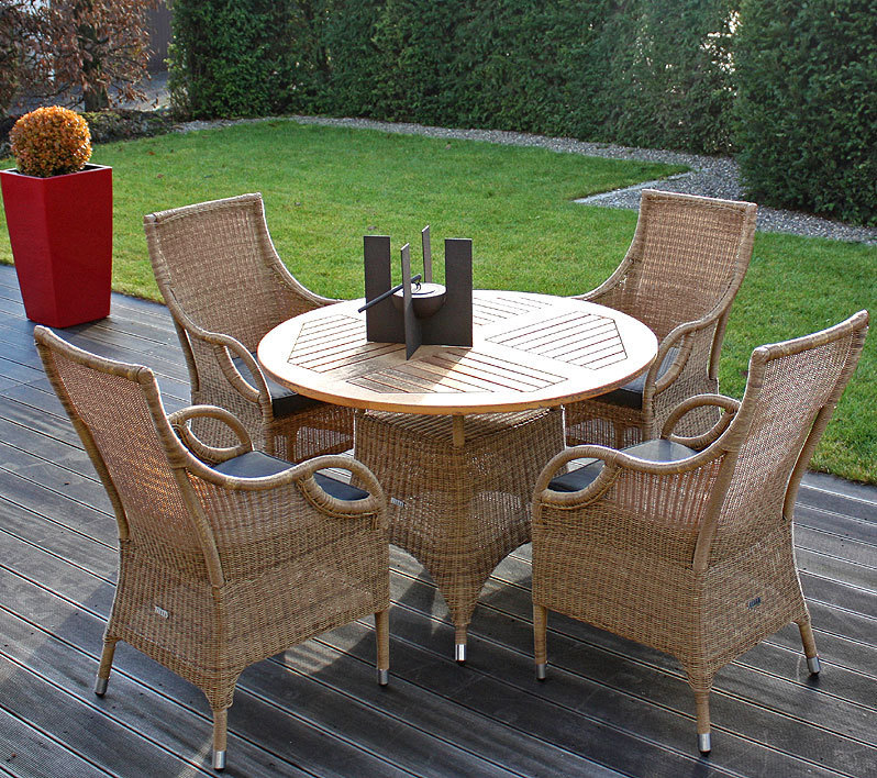 zebra sessel savannah in2farben polyrattan gartenm bel artjardin. Black Bedroom Furniture Sets. Home Design Ideas