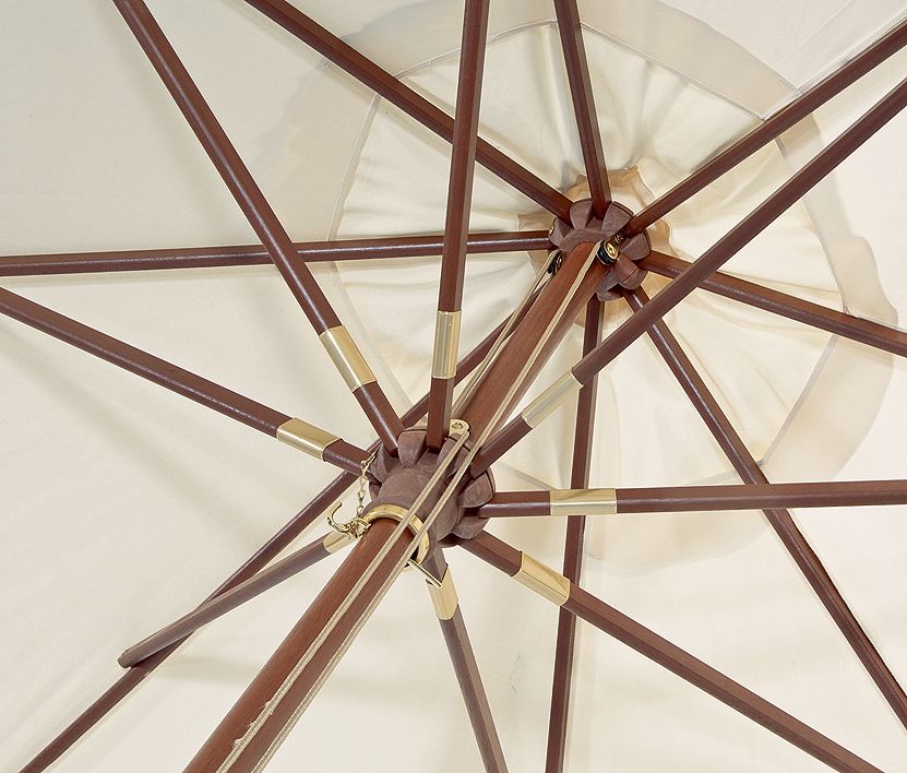 sonnenpartner sonnenschirm newcastle holz d3m schirm art jardin. Black Bedroom Furniture Sets. Home Design Ideas