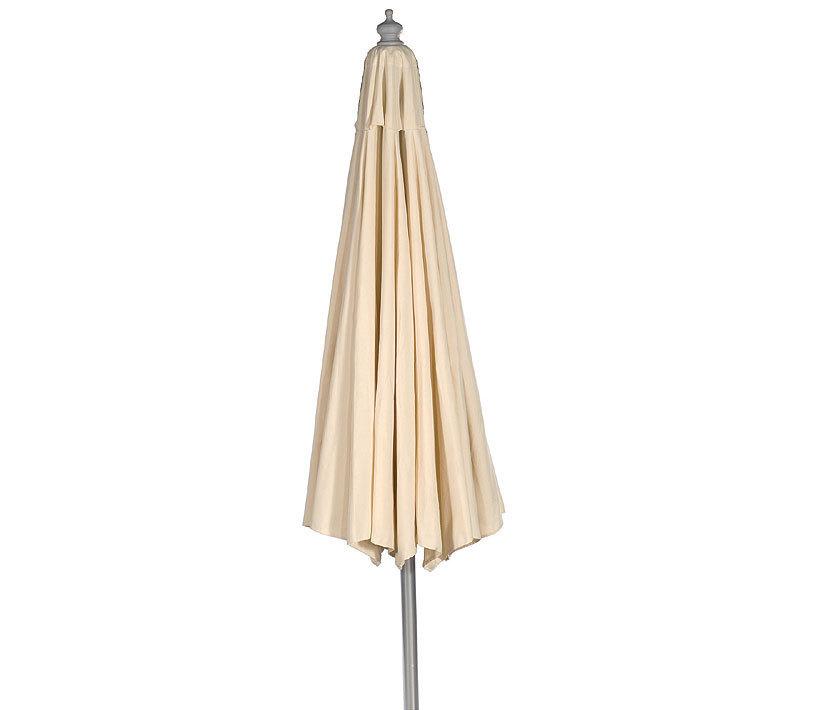 sonnenpartner sonnenschirm newcastle holz d3 5m schirm artjardin. Black Bedroom Furniture Sets. Home Design Ideas