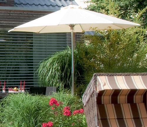 Ber 120 sonnenschirme aus holz metall art jardin for Art jardin ochsenfurt