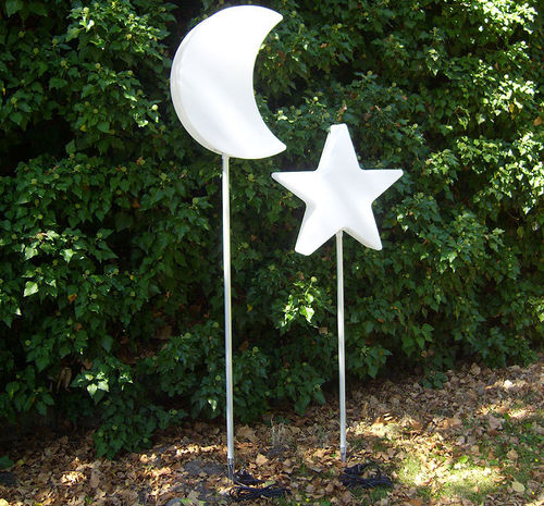 8seasons LED Leuchte Shining Star 60+100 Garden Stick Stableuchte Stern