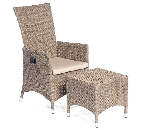 Sunny Smart Relax Verstell Sessel Honduras Polyrattan