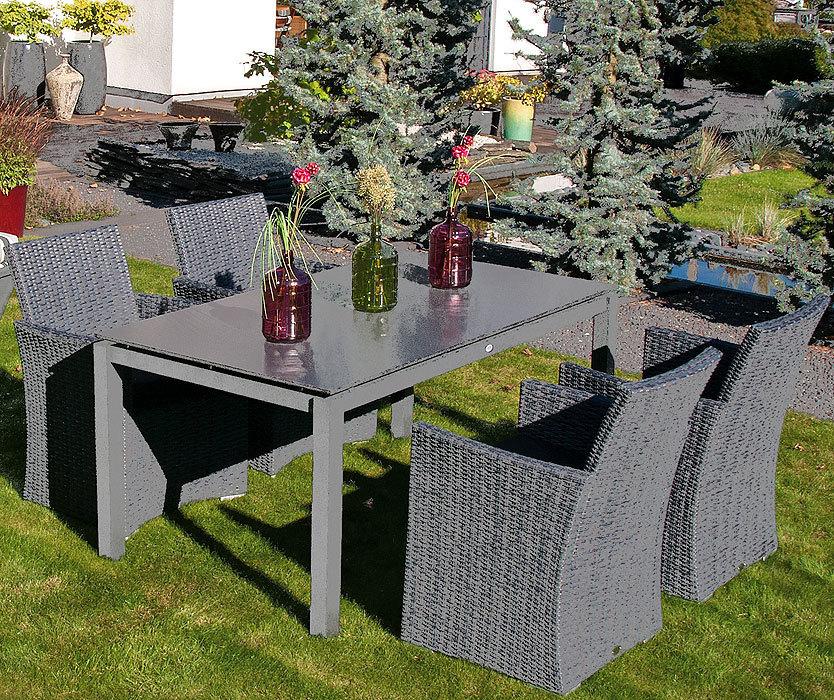 sonnenpartner edelstahltisch base 160x90 tipla compact artjardin. Black Bedroom Furniture Sets. Home Design Ideas