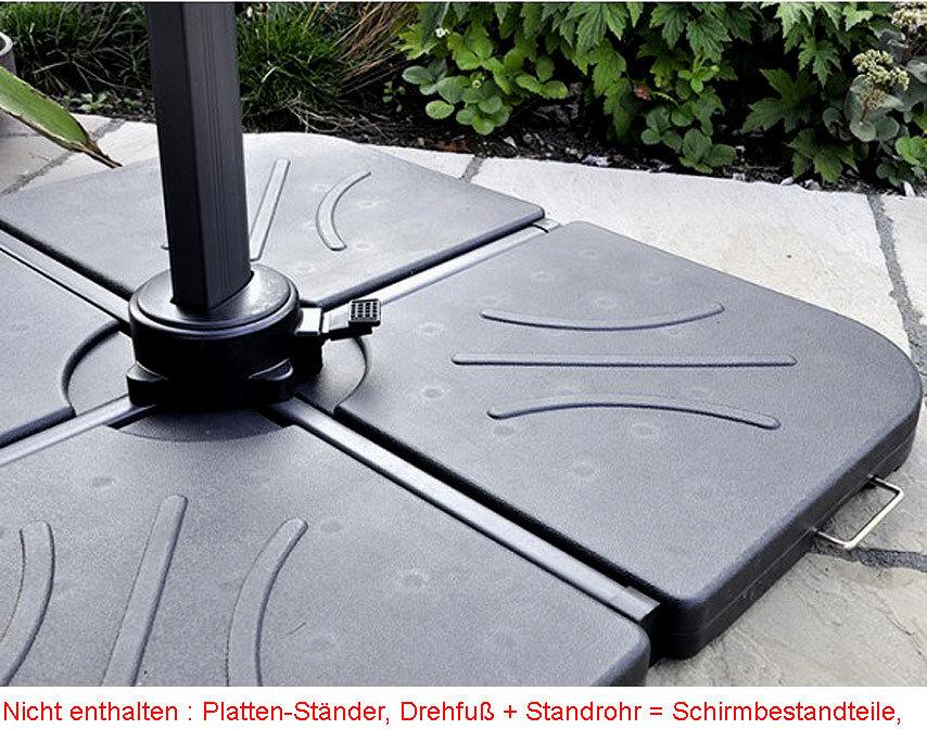 zangenberg 4erset schirmfu formelement 69269 f llbar art. Black Bedroom Furniture Sets. Home Design Ideas