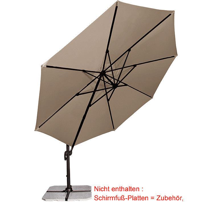 Doppler Ampelschirm Ravenna 3 5m Sonnenschirm Hulle Art Jardin