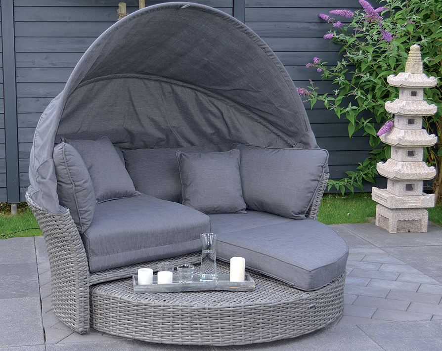 sung rl sonnen insel lounge seattle polyrattan 139792 artjardin. Black Bedroom Furniture Sets. Home Design Ideas
