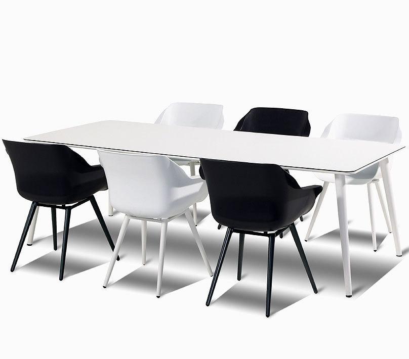 Hartman Tisch Sophie Studio Alu + HPL 240×100 Esstisch  ArtJardin