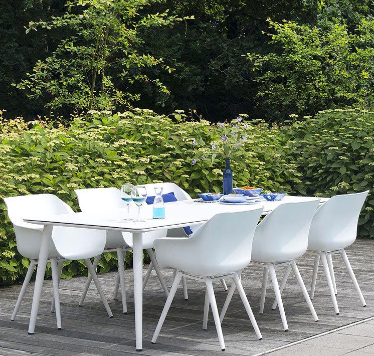 Hartman tisch sophie studio alu hpl 240x100 esstisch for Outdoor tisch design