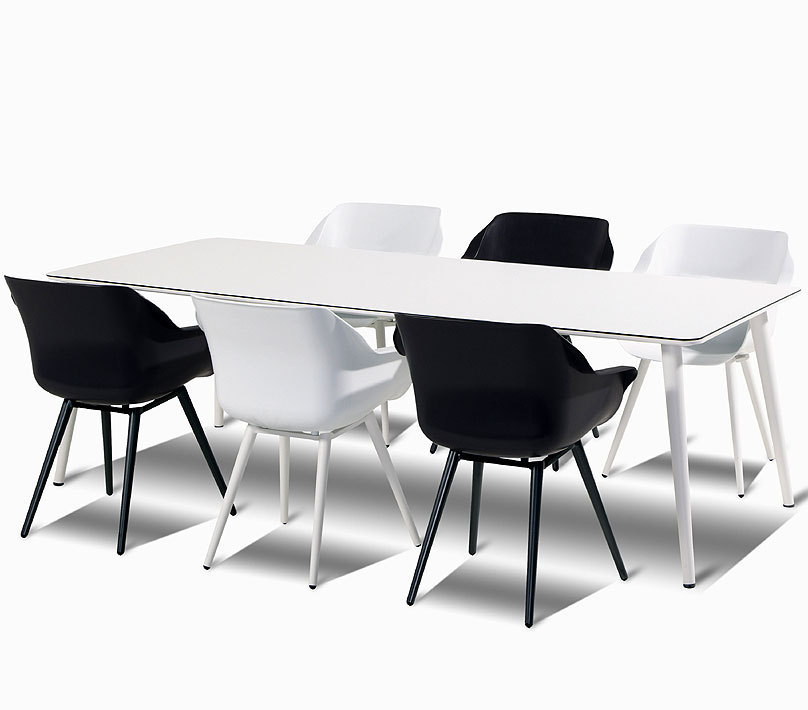 Hartman 7 tlg design essgruppe sophie studio gro wei for Designer essgruppe
