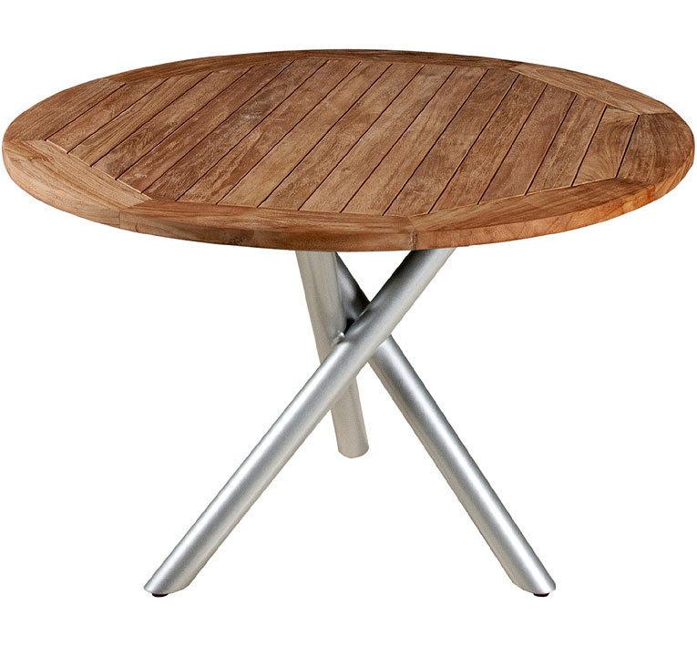 zebra tisch d1 1m mikado esstisch alu silber laminat art jardin. Black Bedroom Furniture Sets. Home Design Ideas