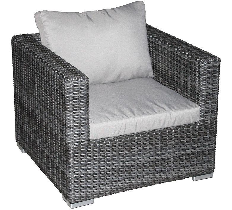 Zebra Jack Lounge Sessel 5271 Alu Polyrattan Kissen Art Jardin