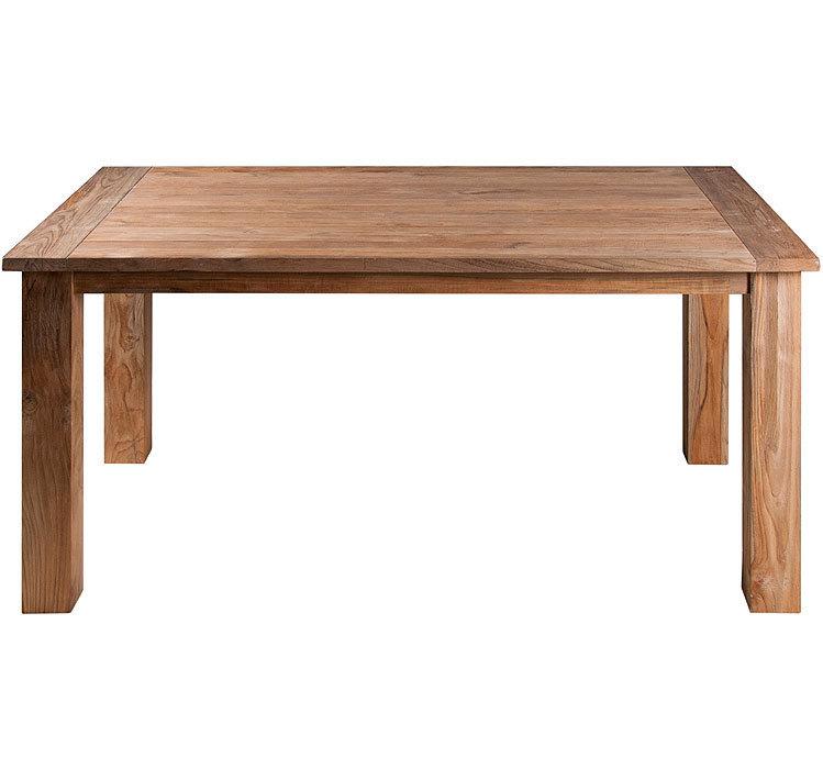 zebra old teak holz tisch 160x90cm oskar 5305 esstisch. Black Bedroom Furniture Sets. Home Design Ideas