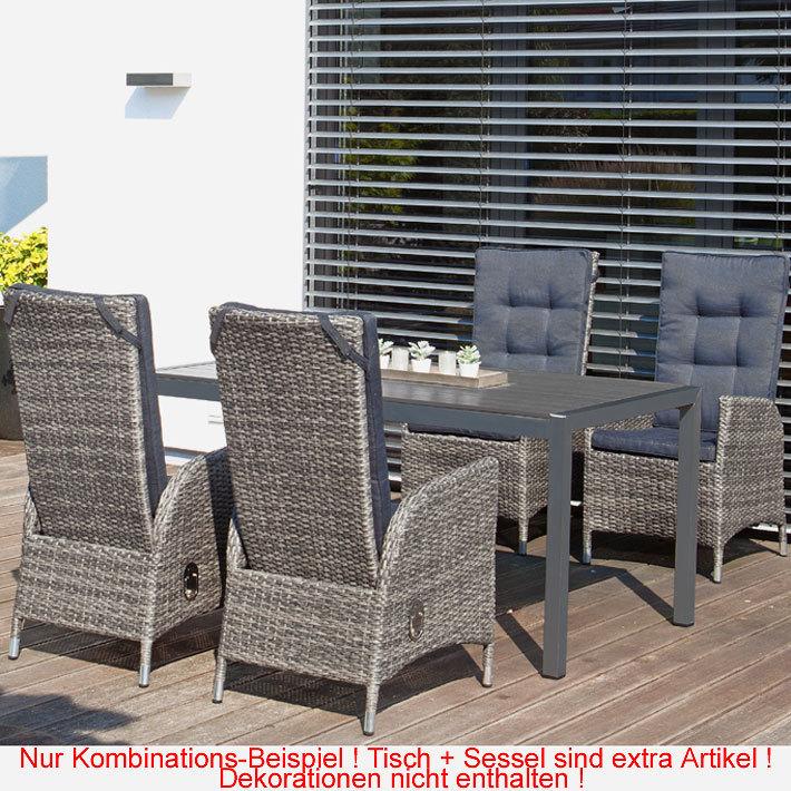 Sunny smart 5tlg esstisch garnitur para relax campus for Sessel gray 07