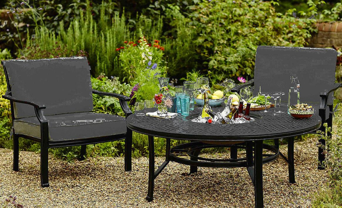 Hartman 5 tlg set 4 lounge sessel tisch jamie oliver for Lounge tisch