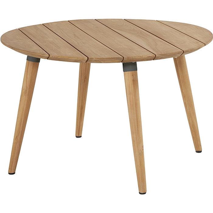 tisch design holz, hartman tisch sophie studio teak holz 120rund esstisch- artjardin, Design ideen