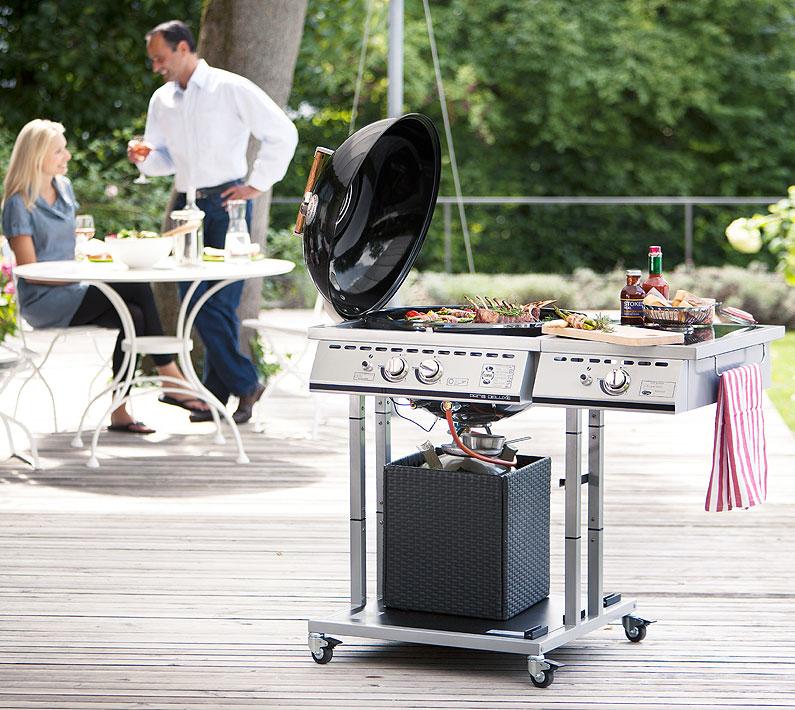outdoorchef gasgrill paris 570 kugelgrill kochstelle artjardin. Black Bedroom Furniture Sets. Home Design Ideas
