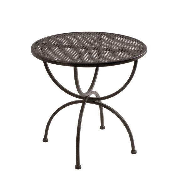 Tisch Romeo 75rund MBM 6500.0221 Gartenmöbel Esstisch- Art Jardin