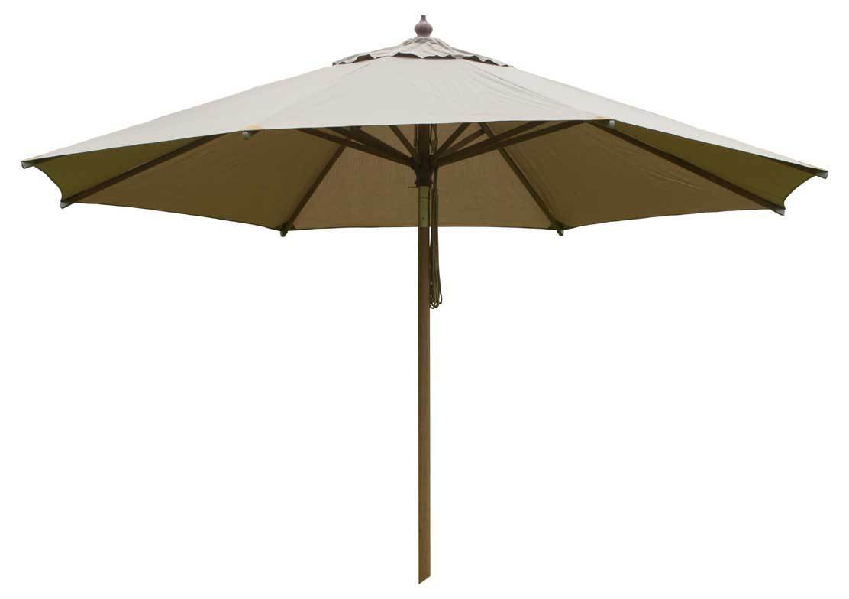 zebra sonnenschirm rumba 3 5m rund holz schirm i3farb art. Black Bedroom Furniture Sets. Home Design Ideas