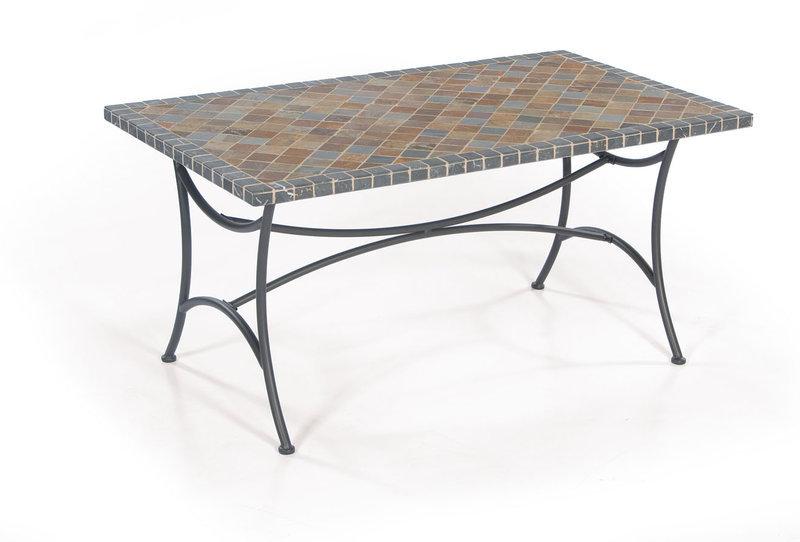 Sonnenpartner Mosaik Tisch 150x90 Montblanc 80085950 Art Jardin