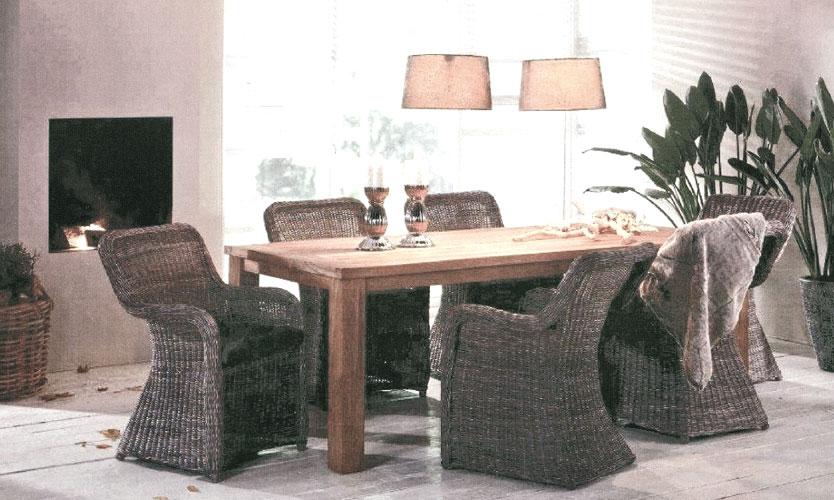Korb Sessel PARIS braun 100146b Polyrattan Gartenmöbel- ArtJardin