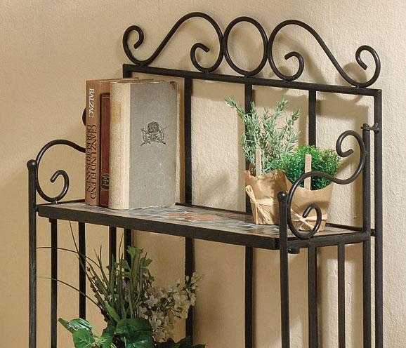 wandregal gastelfo metallregal black 3 b den klappbar art jardin. Black Bedroom Furniture Sets. Home Design Ideas