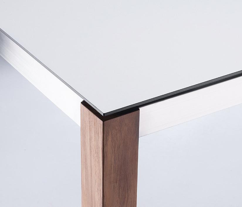 Zebra SELA HPL Laminat Tischplatte Opus Alus 210x100cm Zubehör