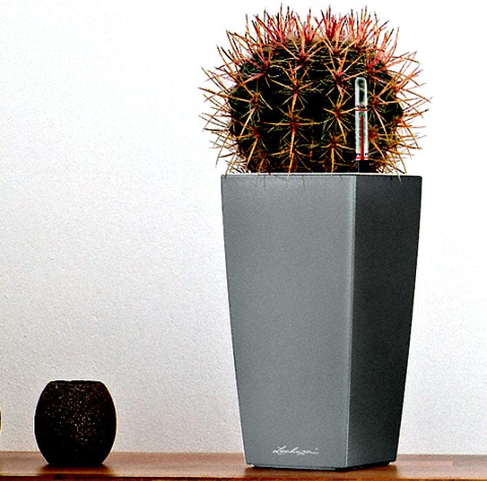 Lechuza Pflanzgefäß CUBICO 50 Komplettset Blumenkübel- Art Jardin