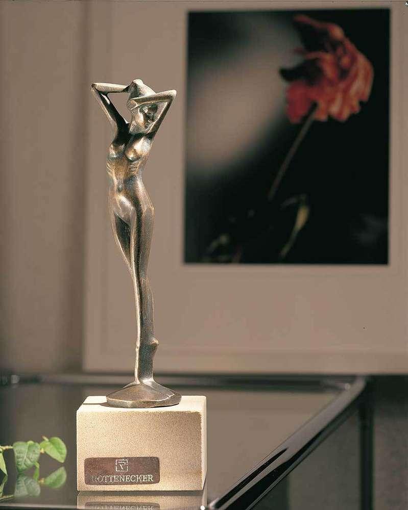 expedition Grus Femte  Rottenecker Bronzefigur BALLERINA 88001 Deko Skulptur- Art Jardin