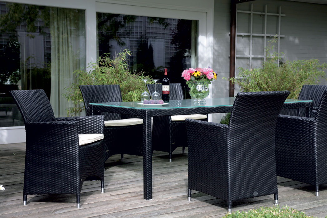 zebra sessel hilton in2 farben polyrattan gartenm bel art jardin. Black Bedroom Furniture Sets. Home Design Ideas