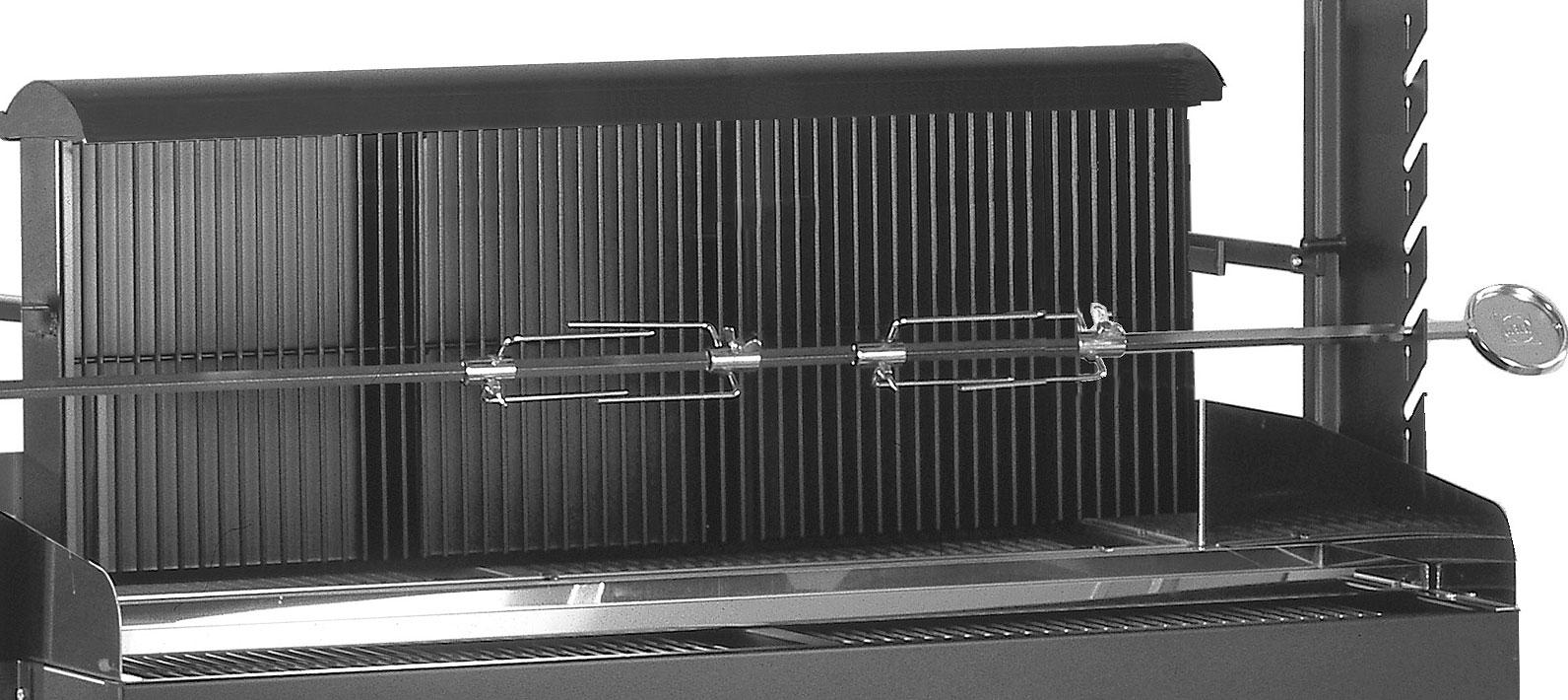 heibi grill profi 51213-028 holzkohlegrill duo-grill - art jardin