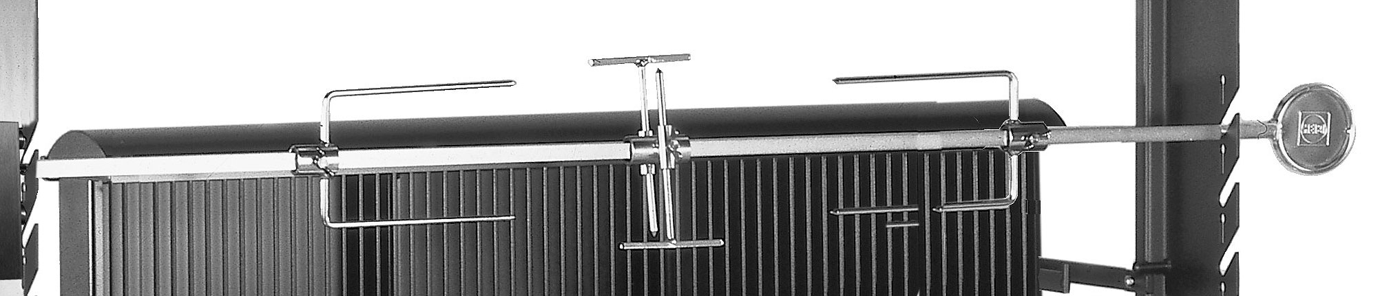 heibi grill profi 51213-028 +zubehör duo-gartengrill- art jardin