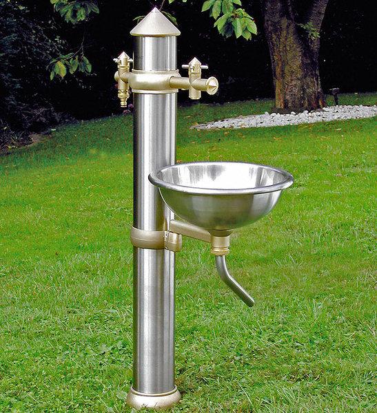 Gartart Wasserzapfsäule Waschbecken Set2 Dg32000 Art Jardin