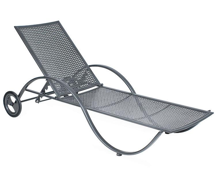 mbm garten liege schmiedeeisen graphite art jardin. Black Bedroom Furniture Sets. Home Design Ideas