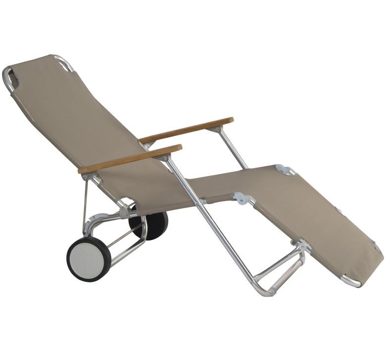 ... Stern Relax Liege Beach Carry 440700 Silbergrau Sonnenliege Liegestuhl  Klappliege Rollliege Faltbar ...
