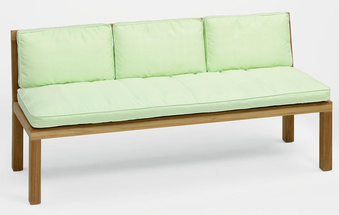 weish upl 3 sitzer bank hampton teakholz gartenbank art jardin. Black Bedroom Furniture Sets. Home Design Ideas