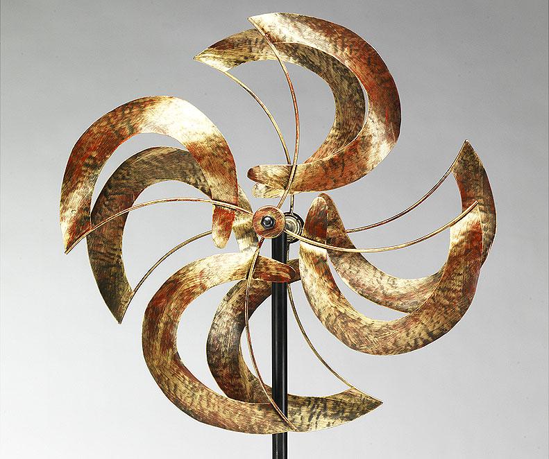 Locker Windspiel Monde 42188 Windrad Eisen Gartendeko- Art