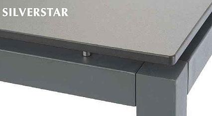 Stern Edelstahl Tisch System Silverstar I78 Varianten Art Jardin