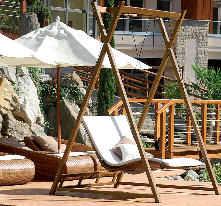 mbm doppel liege kissen heaven swing outdoor auflage art jardin. Black Bedroom Furniture Sets. Home Design Ideas