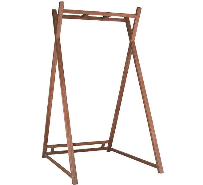 mbm alu liegen gestell heaven swing bamboo schwarz art jardin. Black Bedroom Furniture Sets. Home Design Ideas