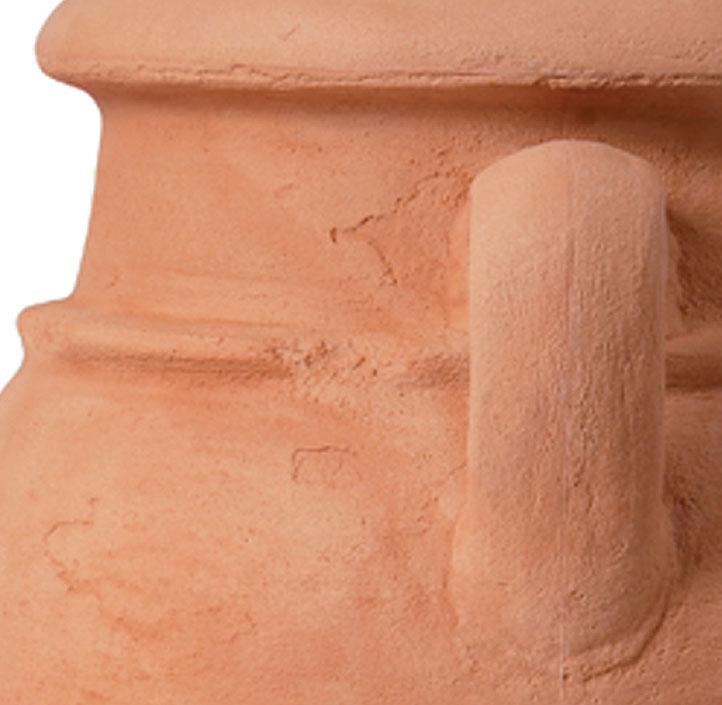 Graf regentonne antik wand amphore 260l fa in3farben art for Terracotta farbe wand