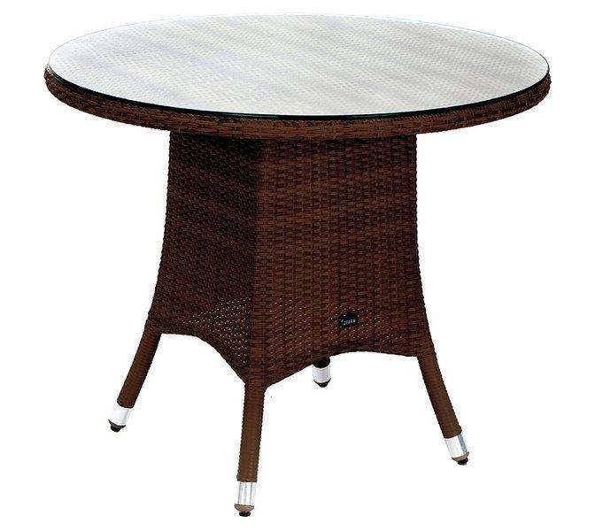 Zebra Tisch 110 Rund Mary Esstisch Polyrattan In2farb Art Jardin