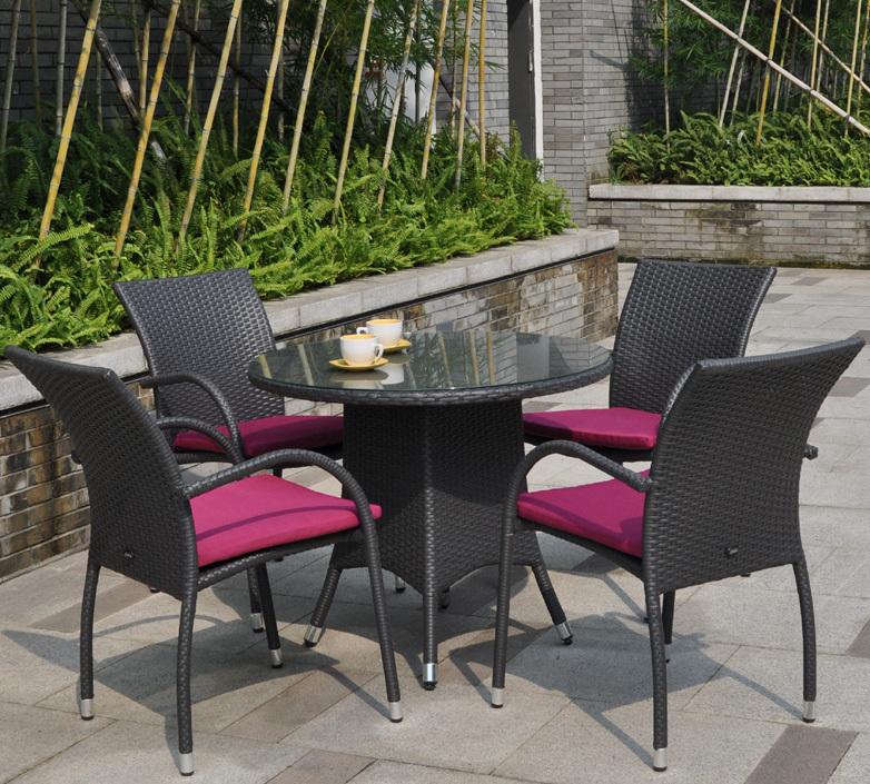 zebra sessel milano in3 farben polyrattan gartenm bel art jardin. Black Bedroom Furniture Sets. Home Design Ideas