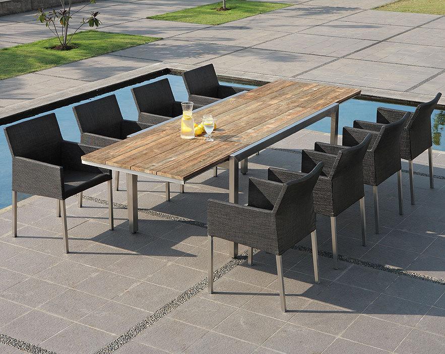 zebra sessel tajax 7511 dark bronze edelstahl textilene gartenm bel auslaufartikel art jardin. Black Bedroom Furniture Sets. Home Design Ideas