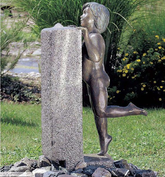 Rottenecker Garten Figur ROBIN 88030 Bronze Skulptur H=95cm