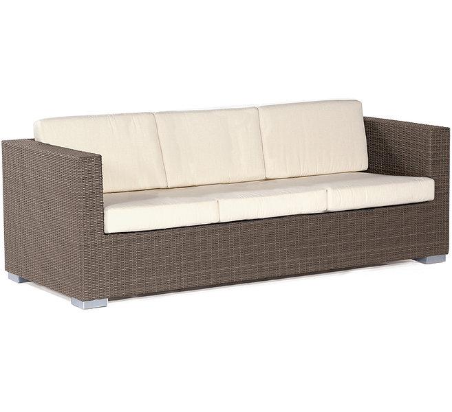 Sonnenpartner 3sitzer Lounge Sofa Residence Polyrattan Artjardin
