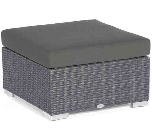 Sonnenpartner Lounge Sitz Hocker Residence Polyrattan graphit 80071350 Design Element - ohne Kissen