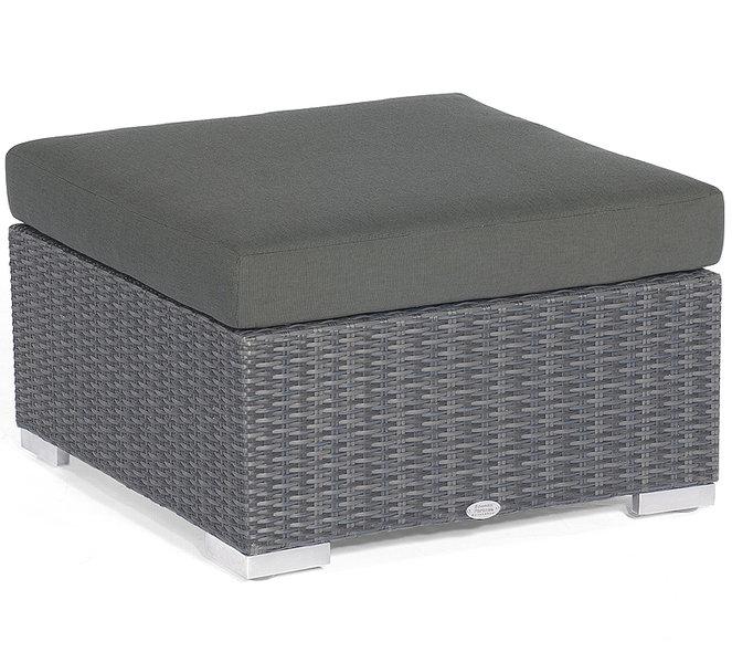 sonnenpartner lounge couchtisch 60x60 residence polyrattan design tisch graphit 80070962